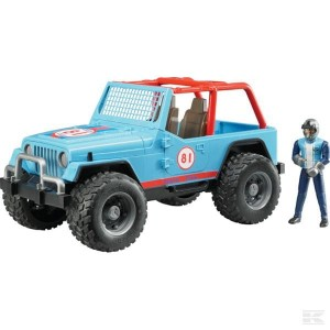 Jeep Cross-Country niebieski BRUDER 02541
